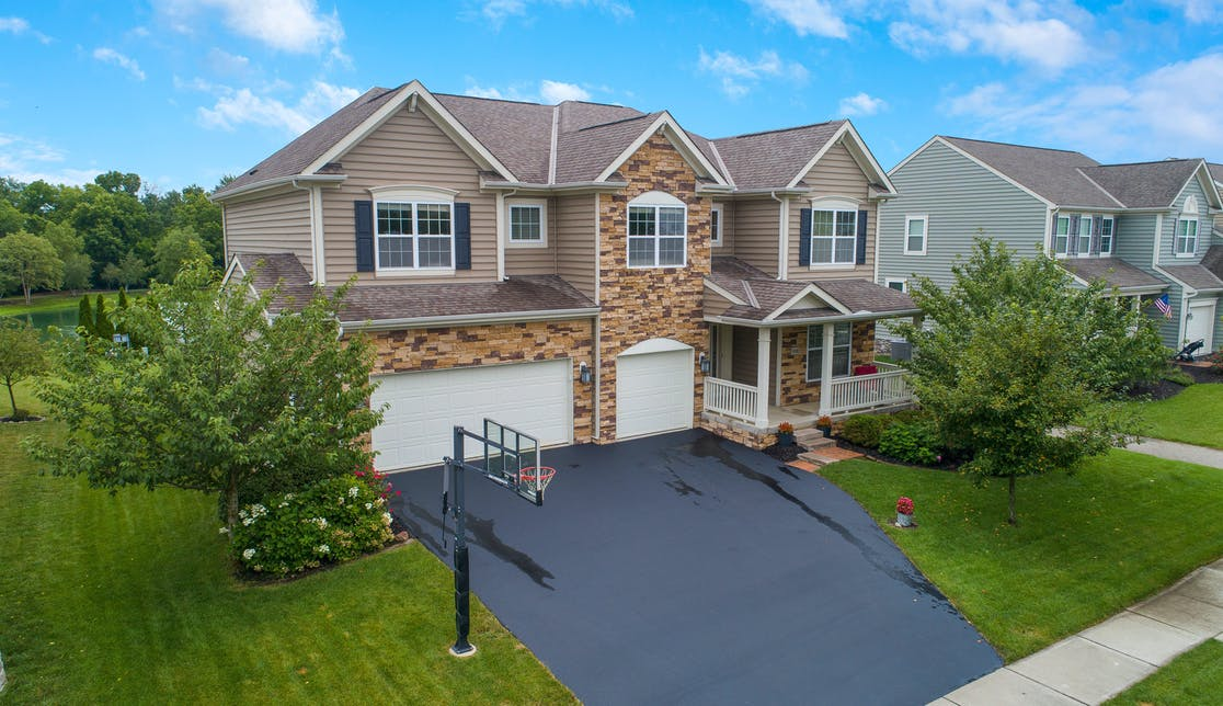 Exterior image of home sold by Address in Grove City, Ohio.