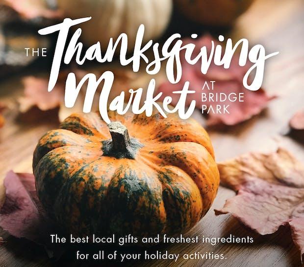 Thanksgiving Market at Bridge Park