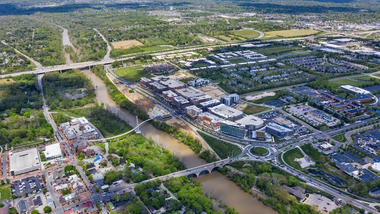 Bridge Park aerial