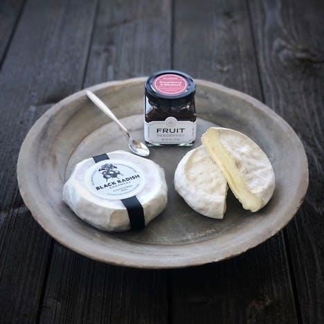 Black Radish Creamery cheeses and jam