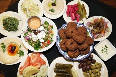 Falafel Kitchen food
