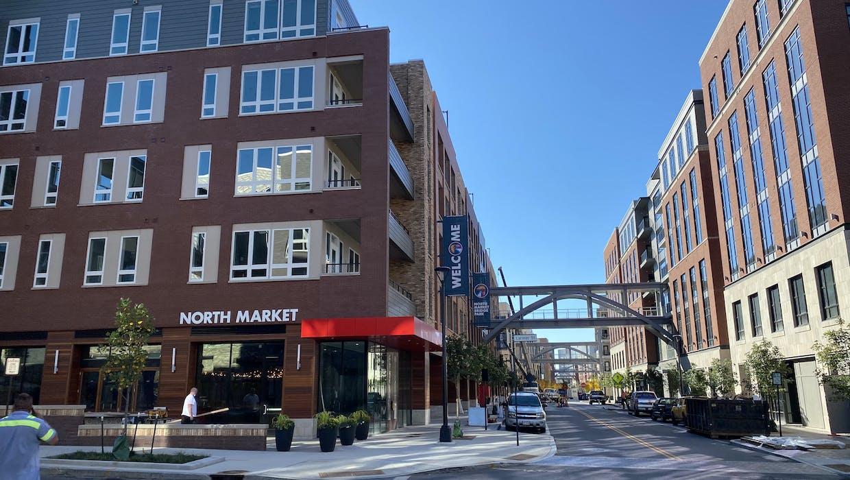 North Market Bridge Park Progress