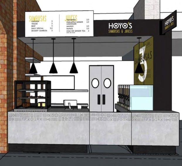 Hoyo's Sambusas & Juice concept